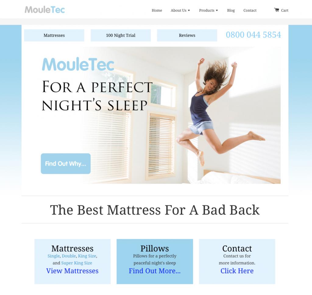 MouleTec Mattresses